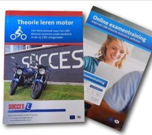 theorieboek voor de motor plus online oefenexamens